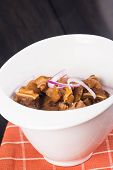 tokwa't baboy (famous delicacy in the Philippines) or pig ears and tofu in sweet soy sauce and vinegar sauce poster