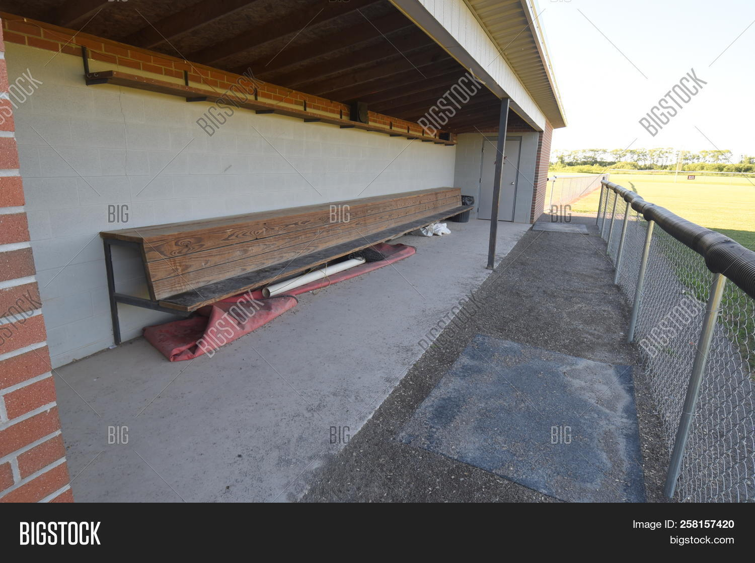 Incredible Baseball Dugout Image Photo Free Trial Bigstock Ocoug Best Dining Table And Chair Ideas Images Ocougorg