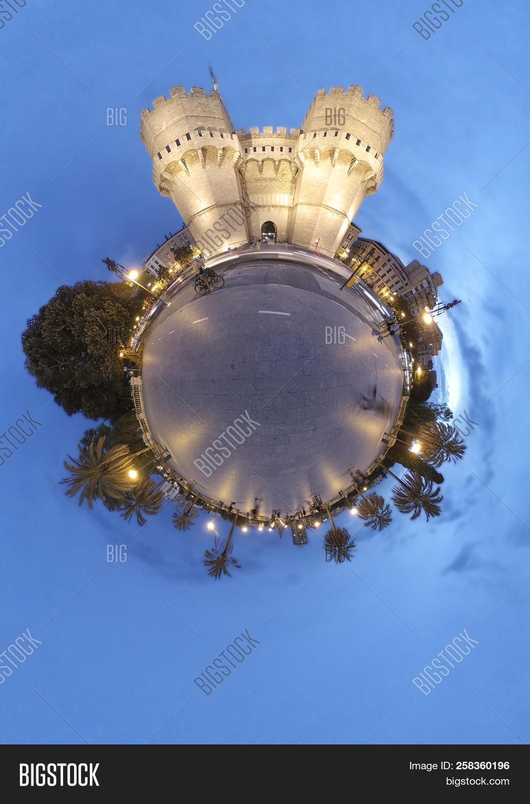 Serrano Towers Little Image & Photo (Free Trial) | Bigstock