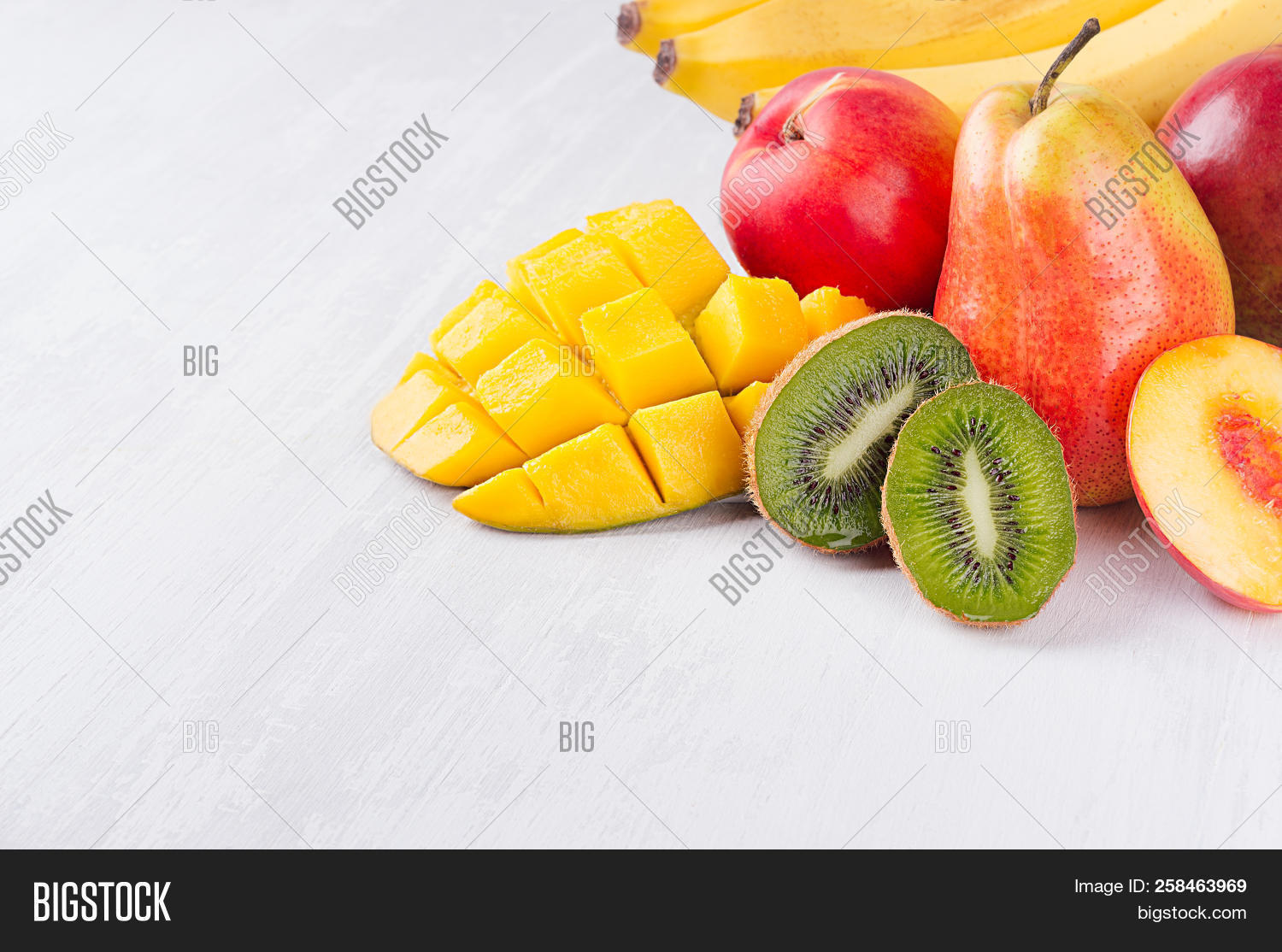 Colorful Fruits Mix Image Photo Free Trial Bigstock