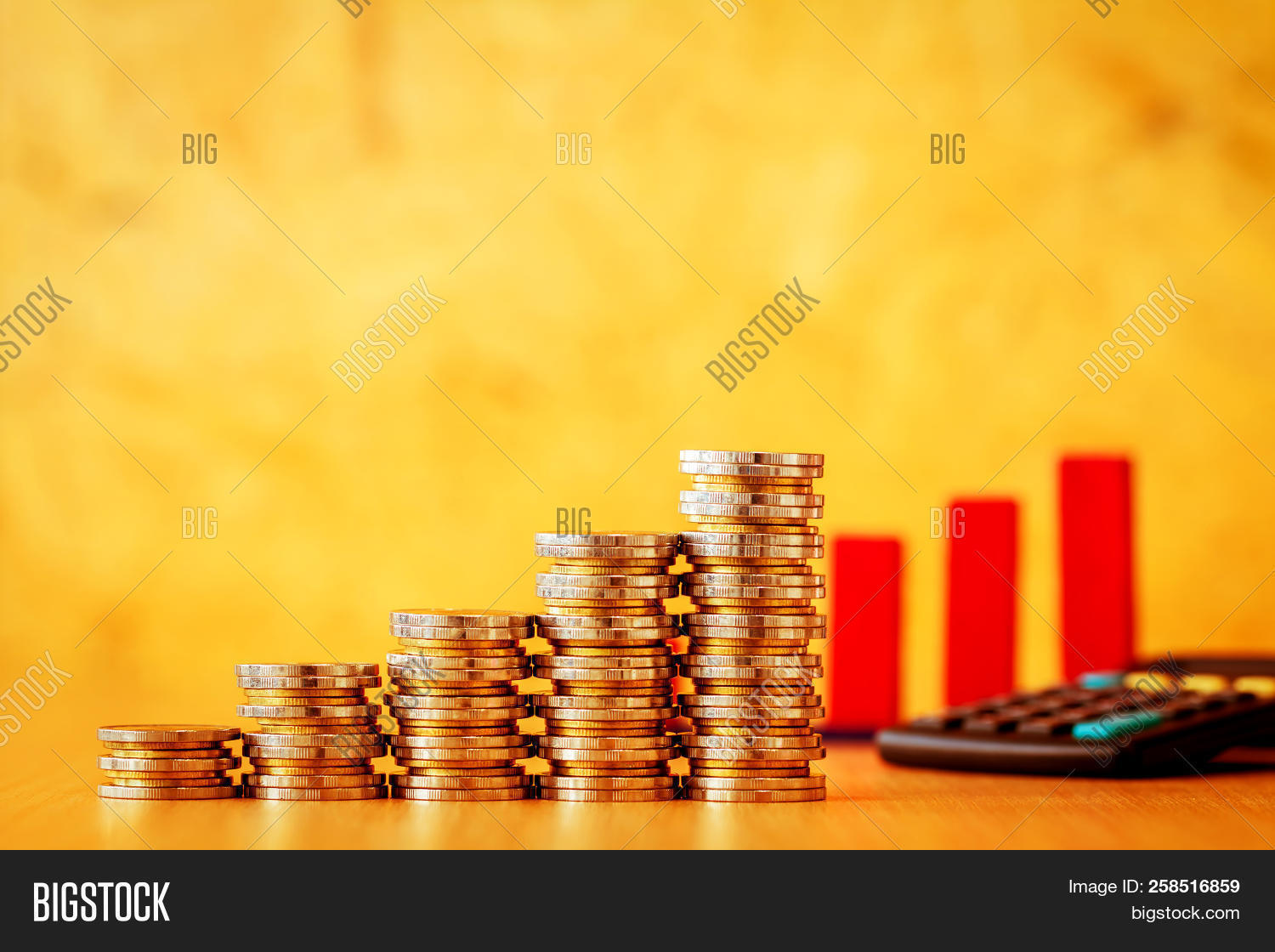 Stacking Gold Coins Image & Photo (Free Trial) | Bigstock