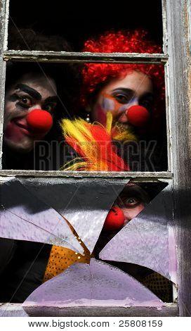Dark Carnival Clowns
