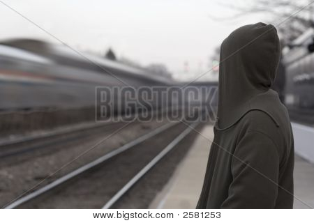 Hooded Sweatshirt Train