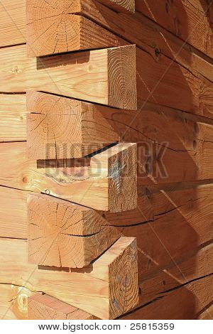 Log Cabin Construction Joints