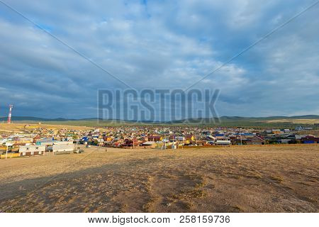 Khuzhir Village On Olkhon Island In Summer