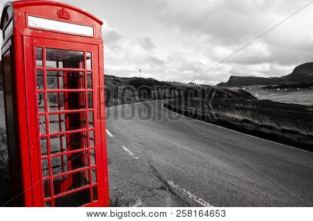 Red Phone Booth - Highlands - Scotland