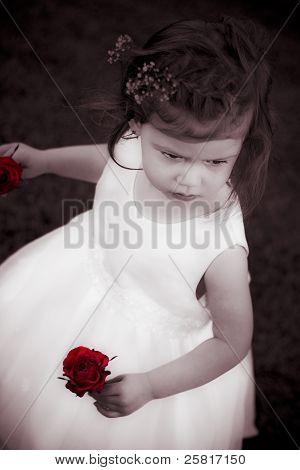 Sweet Little Rose Girl