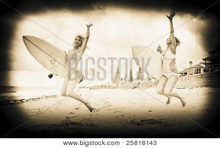 Vintage Sport Photograph