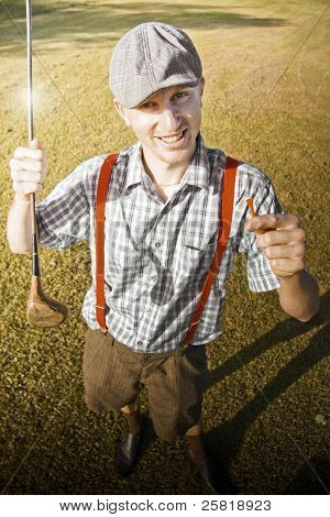 Happy The Golf Man