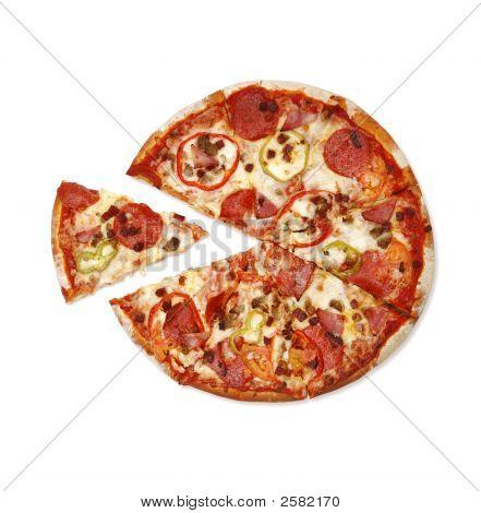 Sliced Pizza 1