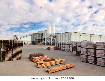 Concrete Industrial Building Plant
