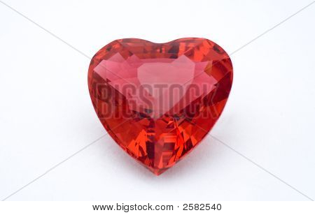 Red Crystal Heart