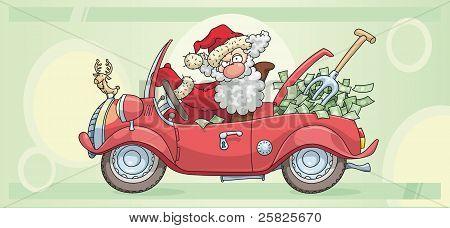 Santa Claus And Money
