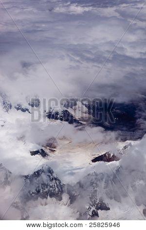 Aerial Photo Of Now Mountain