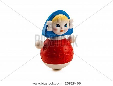 Russian weeble doll.