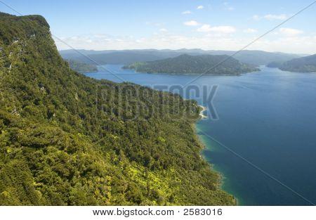 Green Bluff And Blue Lake
