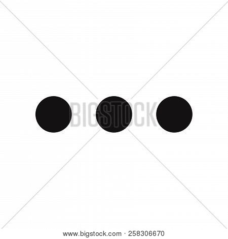 More Icon Isolated On White Background. More Icon In Trendy Design Style. More Vector Icon Modern An