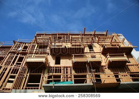 construction. Home construction. Building Construction. Condo Construction. Office building being built.