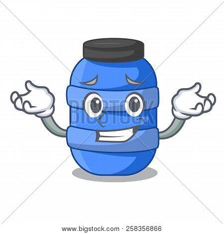 Grinning Cartoon Big Plastic Barrel For Chemical