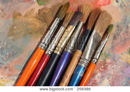 Studioart Paint Palette & Brushes