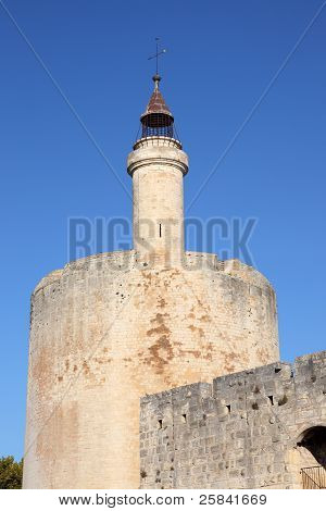 Tower In Aigues-mortes, France
