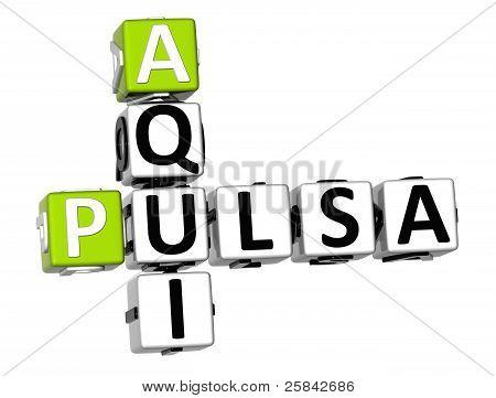 3D Pulsa Aqui Crossword