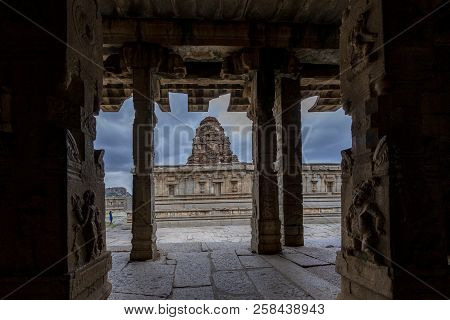 Vittala Temple Or Vitthala Temple Is An Ancient Monument In The Group Of Monuments At Hampi, Is A Un