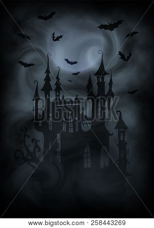 Halloween Vector Black And White.Black White Halloween Vector Photo Free Trial Bigstock