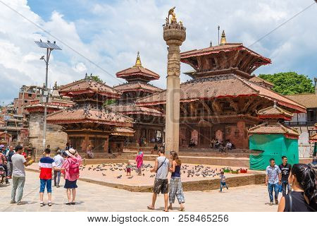 Street View At Kathmandu Durbar Square, Kathmandu Valley, Nepal