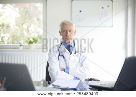 Senior Male Doctor Portrait