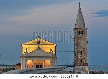 Church Santuario Della Madonna Dell'angelo, Rebuilt In The 17Th Century On The Foundations Of The Or