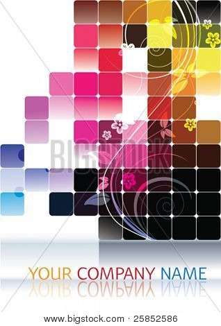 Vector Modern Company Visiting Card