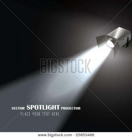 Vector Spotlight Projector