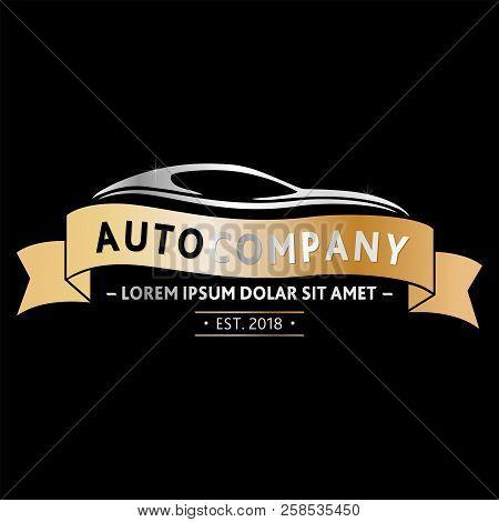 Auto Company Logo Design. Vector And Illustration.