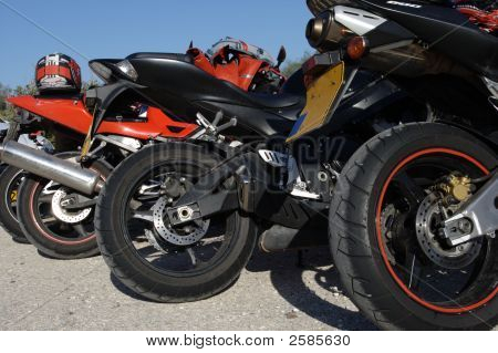Parking Motorcycles