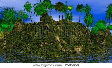 Island High End Close Up