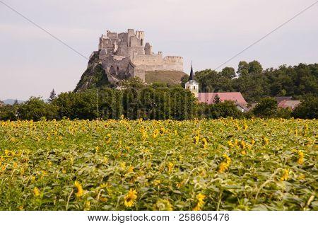 Old Beckov Castle Ruins - Western Slovakia