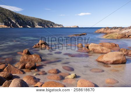 Sleepy Bay In Freycinet National Park
