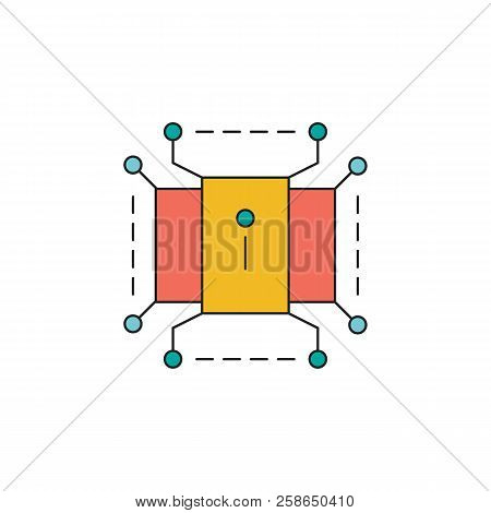 Information Resources Icon. Cartoon Information Resources Vector Icon For Web Design Isolated On Whi