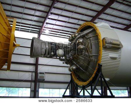 Cohete lanzadera de espacio 02