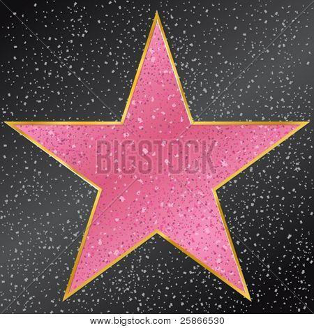 vector illustration of star