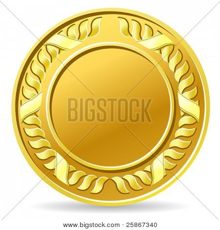 vector illustration of coin