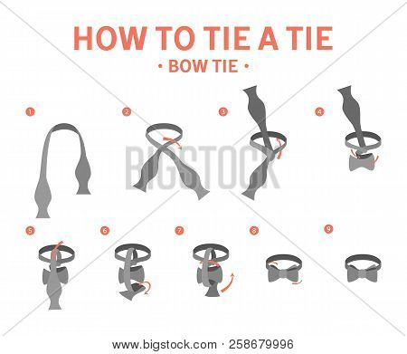 How To Tie A Bow Tie Instruction