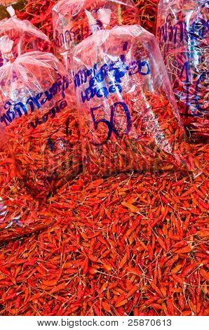 Dry chili for sell
