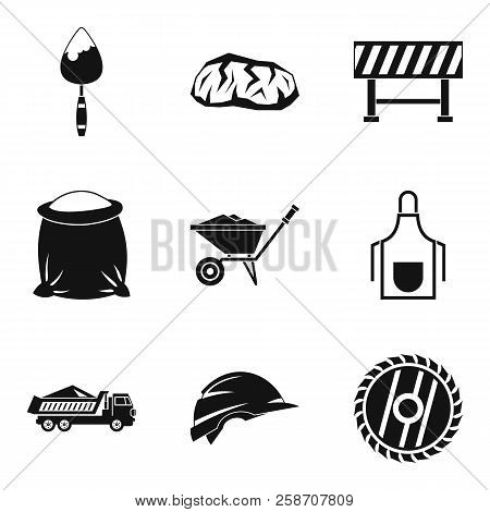 Occupation Icons Set. Simple Set Of 9 Occupation Icons For Web Isolated On White Background