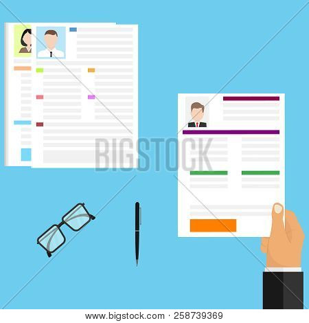 Choice Resume, Vector & Photo (Free Trial) | Bigstock
