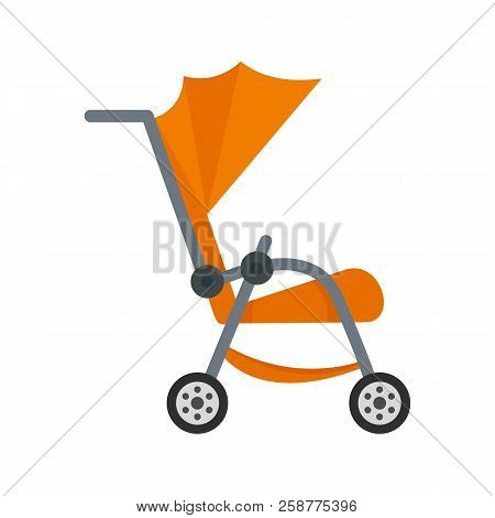 Buggy Icon. Flat Illustration Of Buggy Vector Icon For Web Design