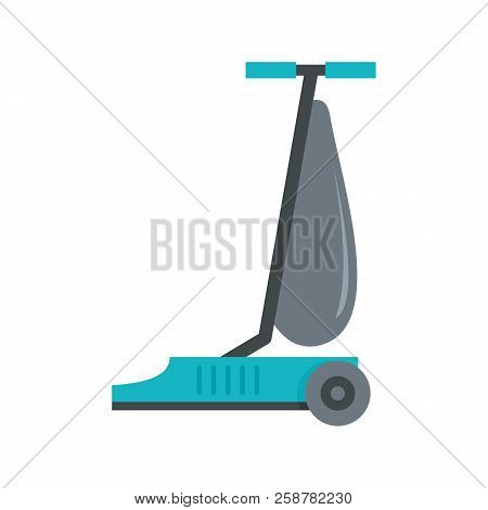 Commercial Vacuum Cleaner Icon. Flat Illustration Of Commercial Vacuum Cleaner Vector Icon For Web D