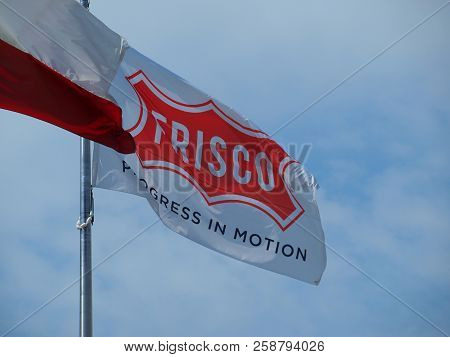 The City Flag Of Frisco, Texas. Top Place To Live In The Us Says The Business Survey Out Today.