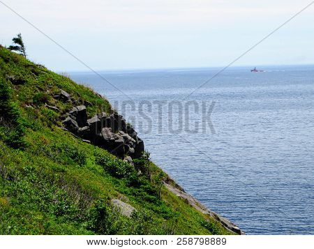 Along, Atlantic, Background, Bay, Beautiful, Blue, Blue Sky, Canada, Coast, Coastline, Cool Backgrou